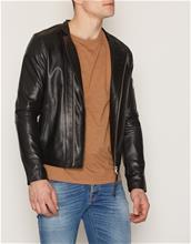 Tiger Of Sweden Jeans Rikki Leather Jacket Takit Black