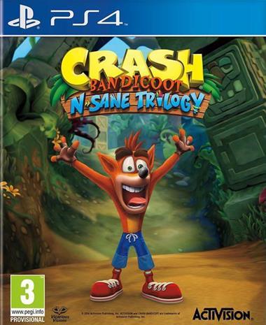 Crash Bandicoot N Sane Trilogy, PS4-peli