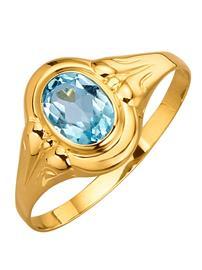Naisten sormus sininen07183/70X