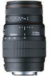 Sigma 70-300mm f/4.0-5.6 AF APO DG makro, objektiivi