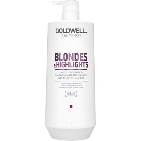 Goldwell Dualsenses Blondes & Highlights - Anti-Yellow Shampoo 1000ml