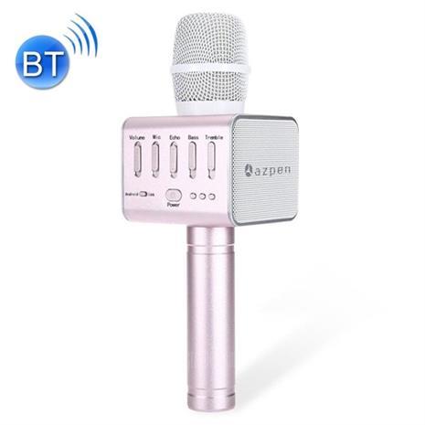 Bluetooth-karaokemikrofoni, jossa kaiutin