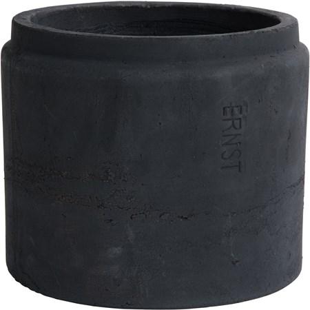 Ernst Kirchsteiger Ruukku d24 h20 cm musta