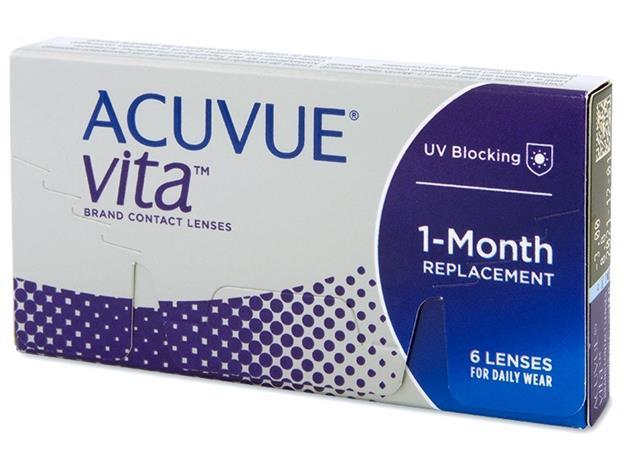 Acuvue Vita, kuukausikäyttöiset piilolinssit 6 kpl