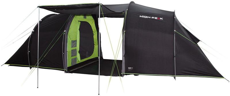 High Peak Tauris 6 teltta , vihreä/musta
