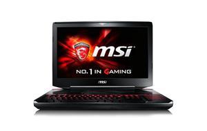 """MSI GT80-2QES32SR311BW 001812-SKU1001 (Core i7-5950HQ, 32 GB, 2000 GB+ 256 GB SSD, 18,4"""", Win 10), kannettava tietokone"""