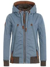 Naketano Tiffy Du Vogel Jacket bluegrey / harmaa Naiset