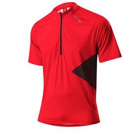 Löffler Monaco lyhythihainen ajopaita , punainen/musta