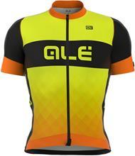 Alé Cycling R-EV1 Rumbles lyhythihainen ajopaita , keltainen/oranssi