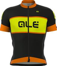 Alé Cycling R-EV1 Master lyhythihainen ajopaita , oranssi/musta