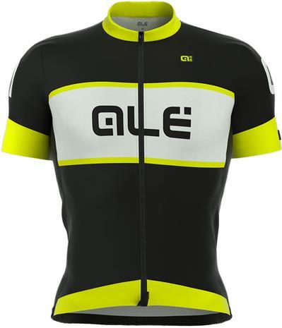 Alé Cycling R-EV1 Master lyhythihainen ajopaita , keltainen/musta