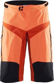 Craft Verve XT pyöräilyhousut , oranssi/musta
