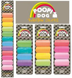 D&D Poopi Dog Rainbow koirankakkapussit