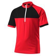 Löffler Bike Trikot HZ lyhythihainen ajopaita , punainen/musta