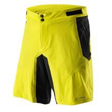 Löffler Tourano CSL pyöräilyhousut , keltainen/musta