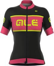 Alé Cycling R-EV1 Master lyhythihainen ajopaita , vaaleanpunainen/musta