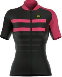 Alé Cycling PRR 2.0 Piuma lyhythihainen ajopaita , vaaleanpunainen/musta
