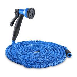 Waldbeck Flex 22 joustava puutarhaletku 8 toimintoa 22,5 m sininen