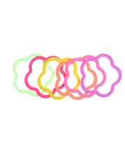 Ibero kukka 6 kpl lasten hiuslenkki