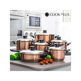 Grytset Cook DLux 12 delar