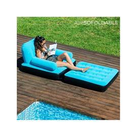 Utdragbar uppblåsbar stol AirSofoldable