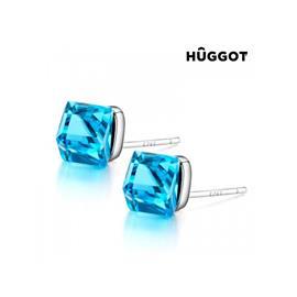 Huggot Dimension Örhängen i 925 sterlingsilver med Swarovski kristaller