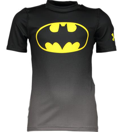 Under Armour B DC COMICS BASELAYER SS BLACK