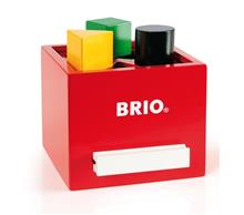 BRIO - Sorting Box, Red (30148)