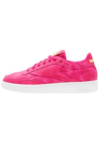 Reebok Classic CLUB C 85 EH Matalavartiset tennarit pink craze/yellow/white