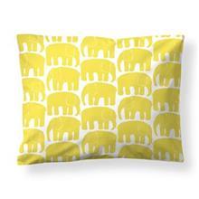Finlayson Elefantti tyynyliina keltainen-valkoinen