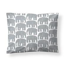 Finlayson Elefantti tyynyliina harmaa-valkoinen