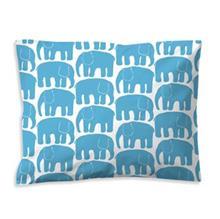 Finlayson Elefantti tyynyliina turkos-valkoinen