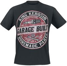 King Kerosin - Garage Built - T-paita