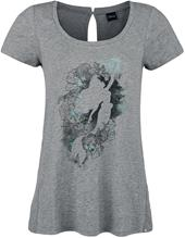 Pieni Merenneito - Watercolor Ariel - Naisten T-paita