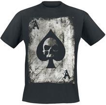 Pik Ace Skullcard - T-paita