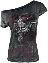 Black Premium by EMP - Broken Viking Spray Washed - Naisten T-paita
