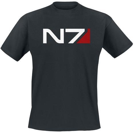 Mass Effect Andromeda - N7 Classic Logo, t-paita