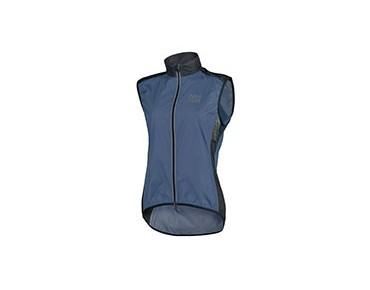 ROSE PRO FIBRE womens wind vest navy/black 46'