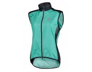 ROSE PRO FIBRE womens wind vest malibu/black 46'