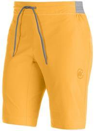Mammut Get Away Lyhyet housut , keltainen