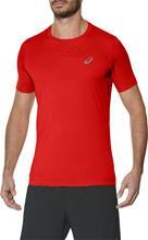 asics Stride juoksupaita , punainen, Miesten takit, paidat ja muut yläosat