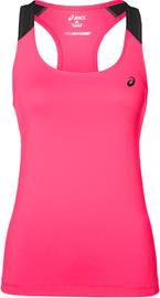 asics Fitted Tank juoksupaita , vaaleanpunainen, Naisten takit, paidat ja muut yläosat