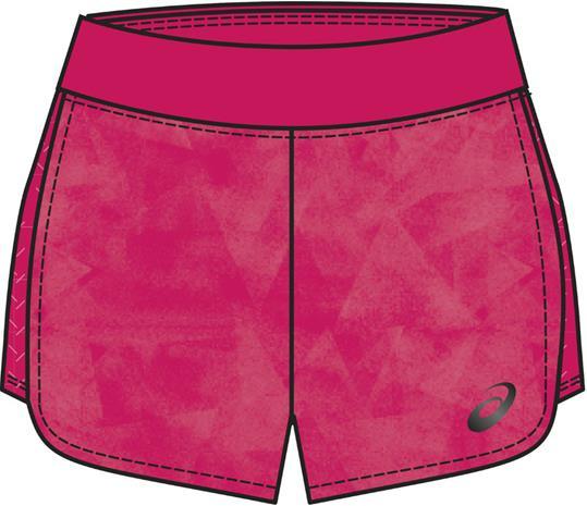 asics Fuzex 5,5In juoksuhousut , vaaleanpunainen