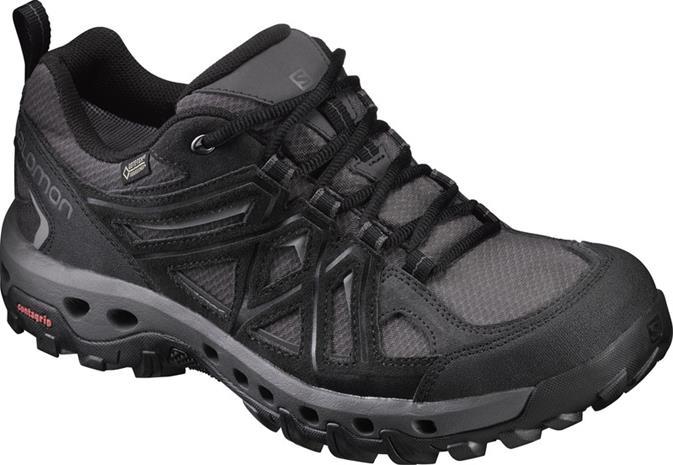 Salomon Evasion 2 GTX Surround kengät , harmaa/musta