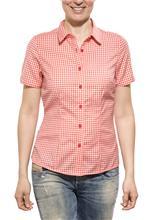 Icebreaker Destiny lyhythihainen paita Check , punainen