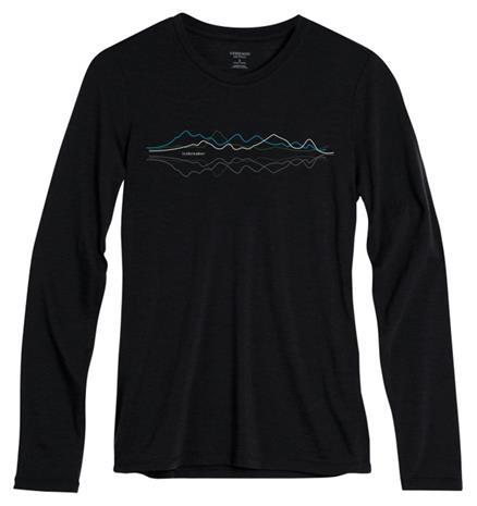 Icebreaker Tech Lite Pitkähihainen paita , musta