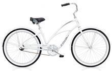 Electra Cruiser Lux 1 kaupunkipyörä , valkoinen