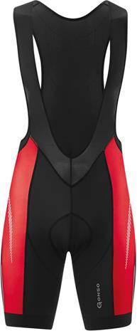 Gonso Keno lyhyet pyöräilyhousut , punainen/musta
