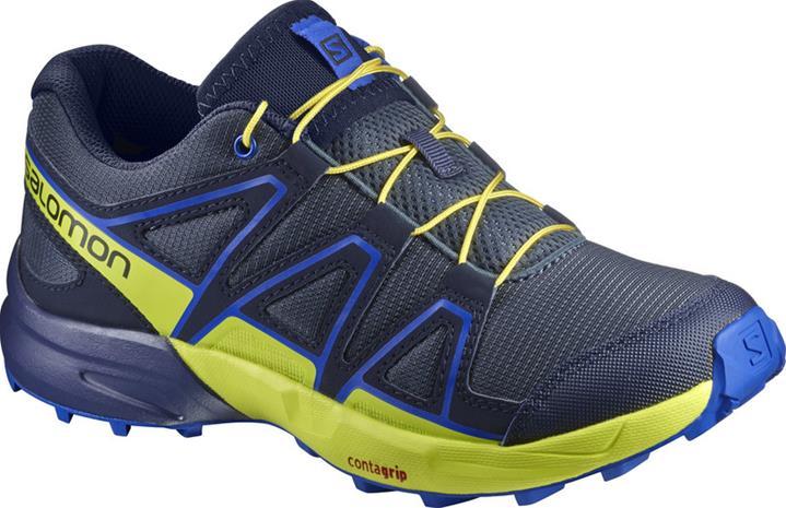 Salomon Speedcross juoksukengät , keltainen/sininen