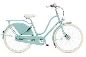 Electra Amsterdam Royal 8i kaupunkipyörä , sininen/turkoosi
